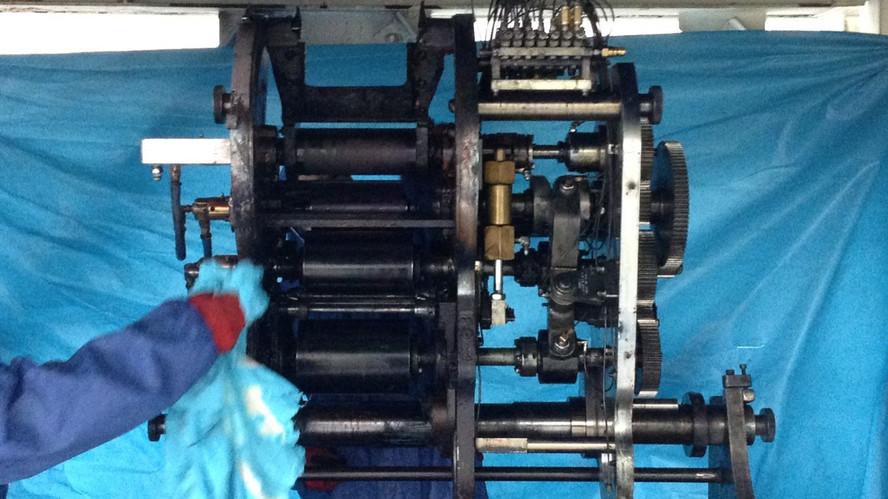 Carbon Kuru Buz Baski Makinesi Temizligi