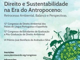 22º Congresso Brasileiro de Direito Ambiental do 'Instituto O Direito por Um Planeta Verde',