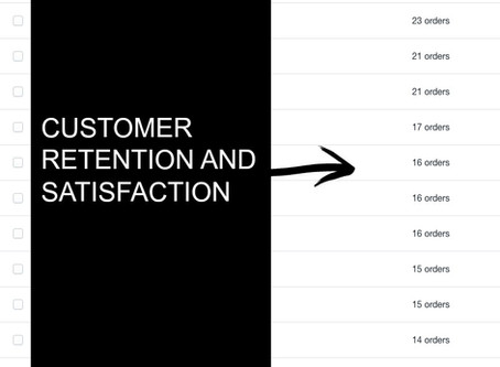 Customer Retention and Satisfaction