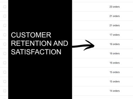 Customer Retention and Satisfaction