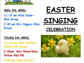 Sing into Spring!