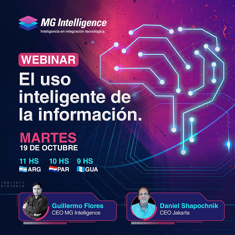 webinar: El uso inteligente de la información