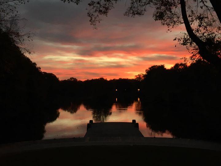 Sunrise at Piedmont Park, Atlanta