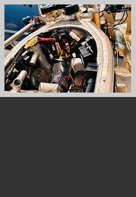 Motosparkz fitting motorbike wiring loom