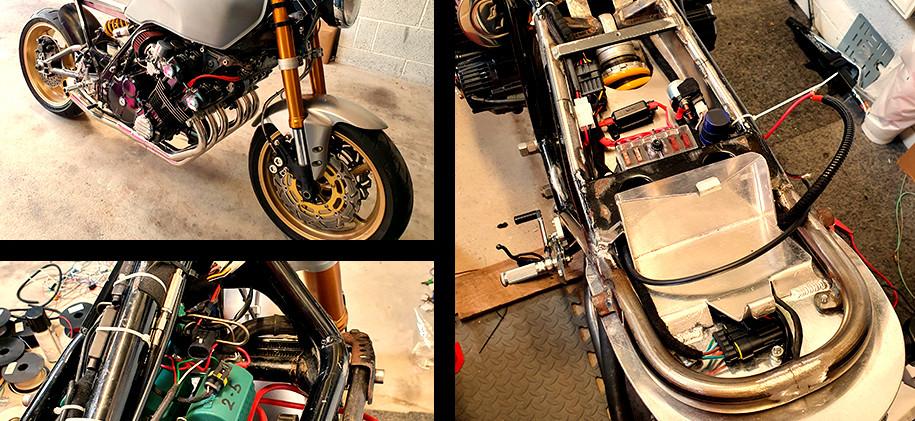 Honda CBX 1000 6 cyl Special