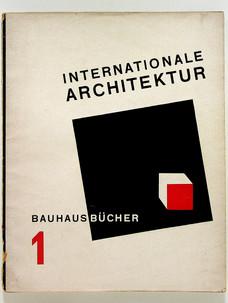 1. Walter Gropius. Internationale Architektur, 1925