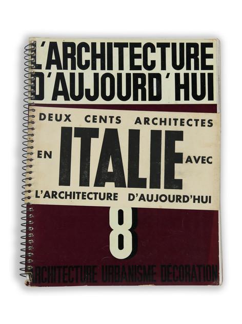 L'architecture d'ajourd'hui (1933)
