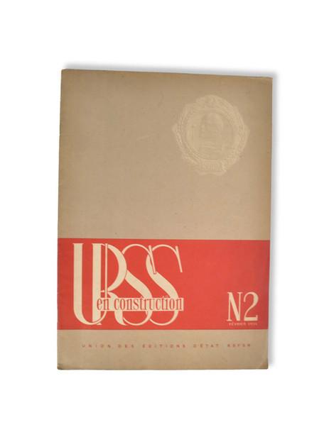 El Lissitzky, Sophie Lissitzky-Küppers. URSS en construction, nº 2, 1934