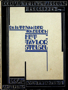 Het Taylorstelsel (1924)