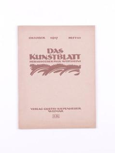 Das Kunstblatt, 10 (1917)