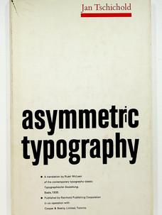 Asymmetric typography (1967)