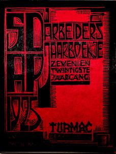 SDAP Arbeiders Jaarboekje (1925)