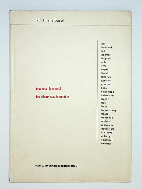 Neue Kunst in der Schweiz (1938)