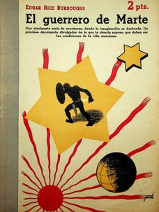 El guerrero de Marte / Edgar Rice Burroghs (6 de junio, 1948)