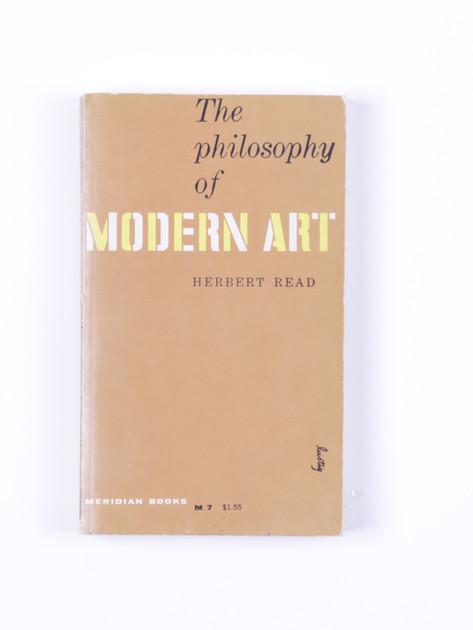 Read. The philosophy of modern art (1955)