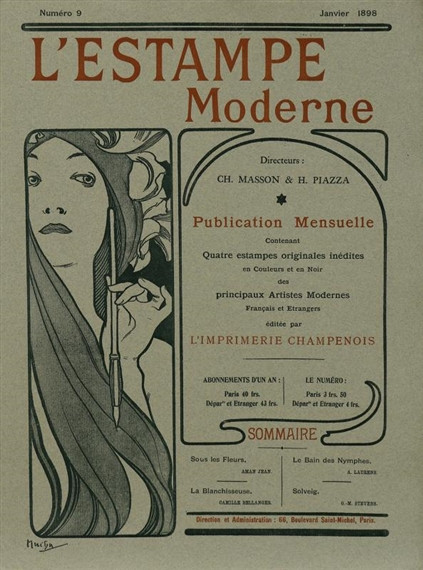 Alphonse Mucha (1897)