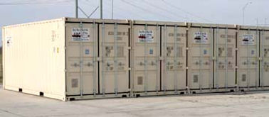 ABC Storage On Site Containers, Mobile storage containers, truck parking