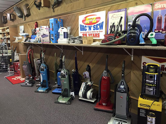 A to Z Sew-N-Vac Vacuums