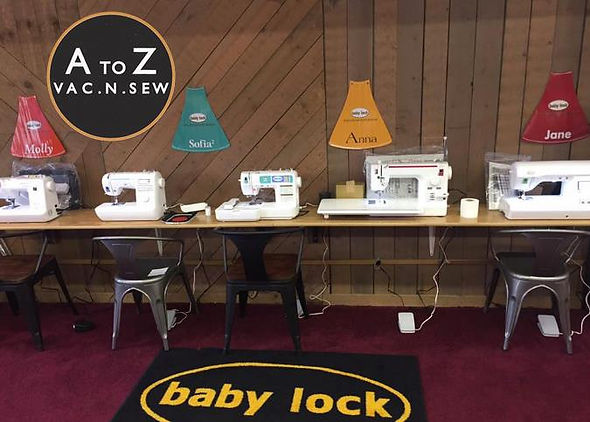 A to Z Sew-N-Vac Sewing Machines