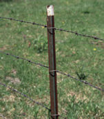 steel fence post