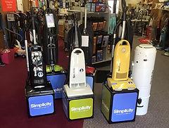 A to Z Vac N Sew vacuums