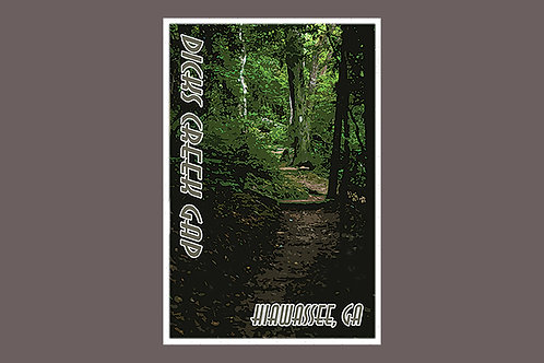 2 Pack - 4x6 Dick's Creek Gap Postcard
