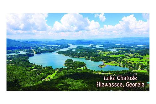 2 - 6x11  Lake Chatuge Postcards
