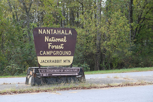 2 - 4x6 Postcards of Jackrabbit Campground
