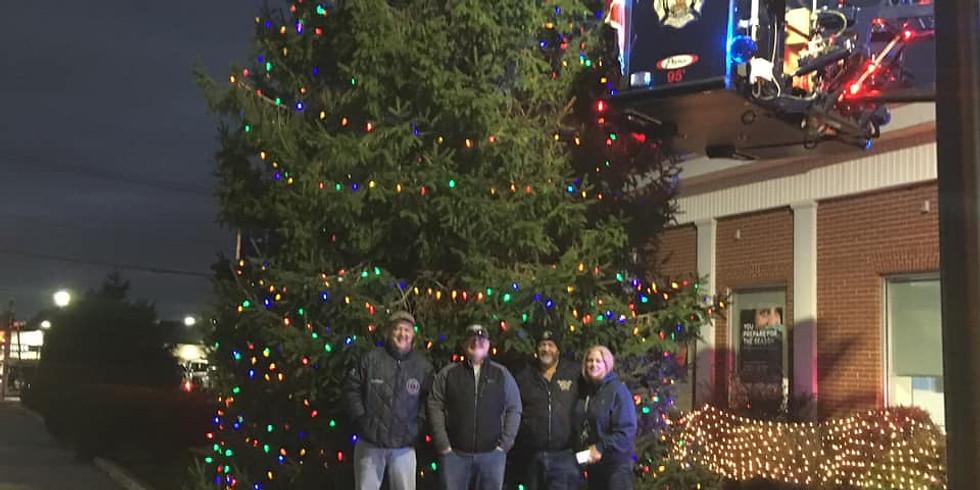 GCP Christmas Tree Lighting