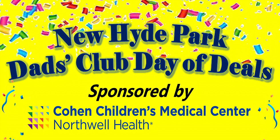 """Dads' Club """"Day of Deals"""" Community Day"""