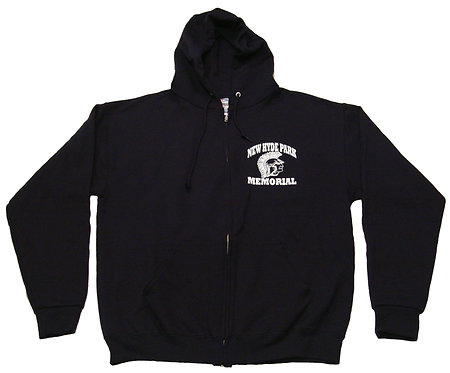Long Sleeve Zipper Hood