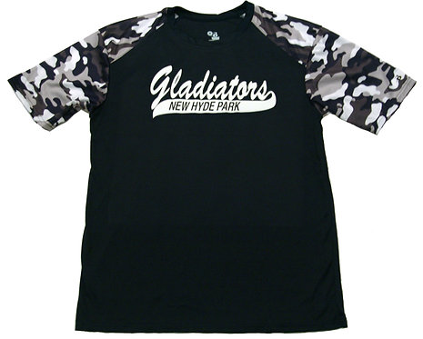 Short Sleeve Camo Sport Tee (Dry-fit)
