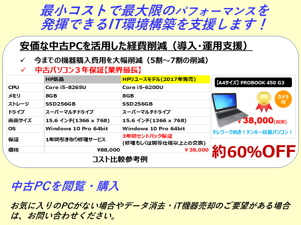 HP_(2)中古IT機器コスト削減サイトに誘導_20210131.png