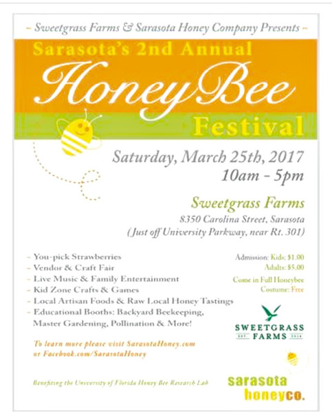 Honey bee festival March 25th 2017