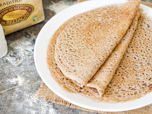 Galettes de Sarrasin sans lactose - sans gluten