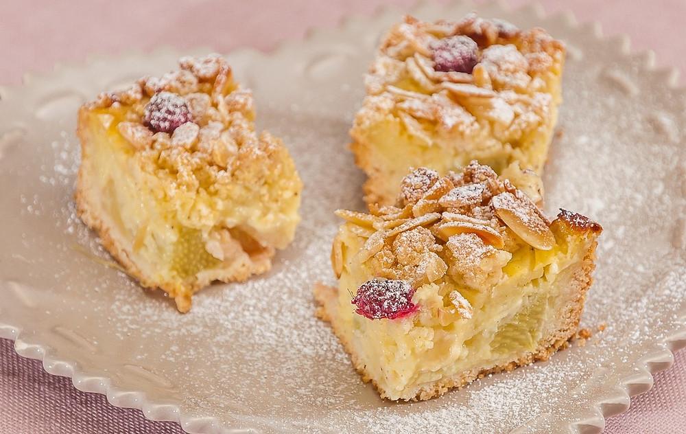 dessert à base de rhubarbe légère diététicienne nutritionniste seynod carole salle