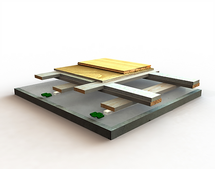 ELAN BASKETWEAVE wood flooring detail