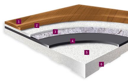 tarkett omnisports 5.5mm detail floor image