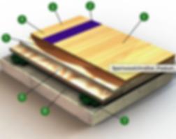 Sportwood Ultra Star Flooring detail