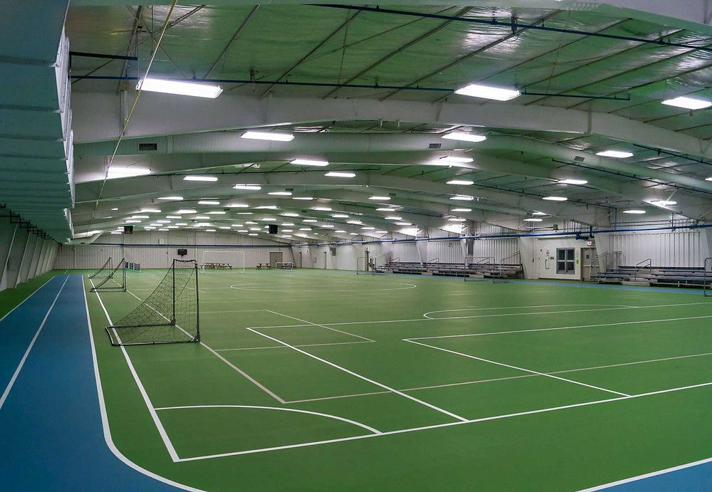 McMillen Community Center located in Fort Wayne, Indiana Pulastic flooring