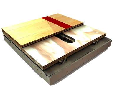 Bio Channel Self Blocking Wood Flooring Detail