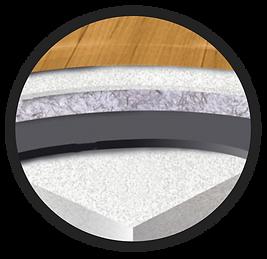 TARKETT VINYL close up flooring detail