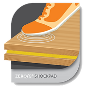 zero g shockpad - floor system technology