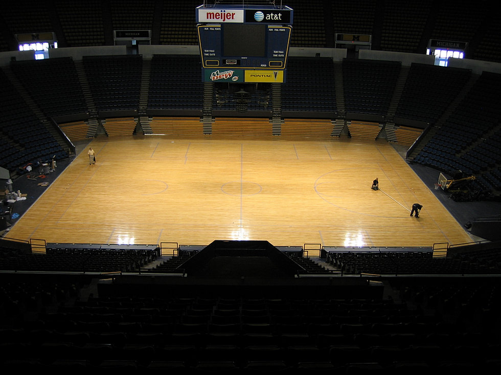 Hardwood And Rubber Sports Flooring Gym Floor Maintenance