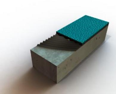 Elite Infield - Durathon Flooring Detail