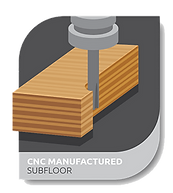 cnc manufactured subfloor - Floor Sytem Technology
