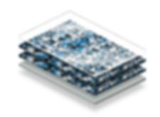 Strata Commercial Flake flooring detail
