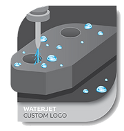 WATER JET Custom  - floor system technology