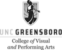 UNC Greensboro Performing Arts logo