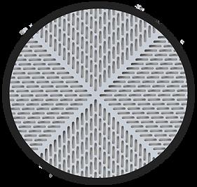 MATS INC WET AREAS DUCKTILE SHADOW flooring detail
